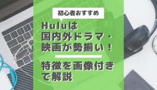 【初心者おすすめ】Huluは国内外ドラマ・映画が勢揃い!特徴を画像付きで解説